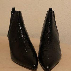 J Crew Leather Booties